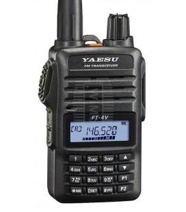 YAESU FT-4VE WALKI TALKI DE VHF CON RADIO DE FM COMERCIAL