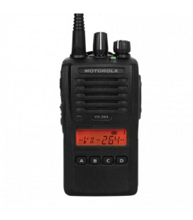 MOTOROLA VX-264 VHF WALKIE PROFESIONAL CON TECLADO 136-174 MHz ANALOGICO + PINGANILLO DE REGALO