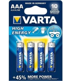 VARTA HIGH ENERGY LR03 BLISTER 4