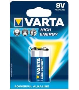 VARTA HIGH ENERGY 9V TIPO 6F22 BLISTER