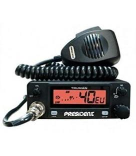PRESIDENT TRUMAN ASC EMISORA CB 27 Mhz. AM / FM 40 CANALES