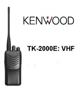 TK-2000E KENWOOD WALKIE PROFESIONAL VHF 146-174 MHZ 16 CANALES