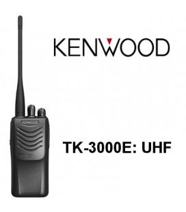 TK-3000E KENWOOD WALKIE PROFESIONAL UHF 440-470 MHZ 16 CANALES