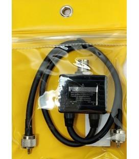 JS-DX-72 DUPLEXOR HF/VHF/UHF1 PL H x 2 PL M, FRECUENCIAS 1,6-30-140-150-400-460 MHZ