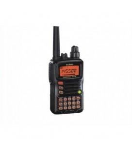 YAESU VX-6E WALKIE BIBANDA VHF/UHF + CARGADOR DE SOBREMESA RAPIDO + PINGANILLO