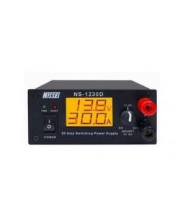 NISSEI NS-1230D FUENTE DE ALIMENTACION DIGITAL REGULABLE DE 5 A 16 VCC Y DE 25 A 30 AMP.