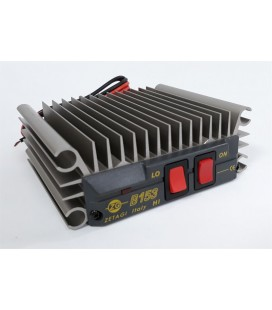 ZETAGI B153 AMPLIFICADOR HF 26-30 Mhz 12V -100 W TRANSISTORES MOSFET