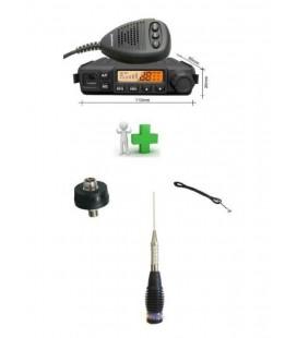 CRT MILLENIUM COMPACT CB + ANT. RML145 M+ BASE PL + CABLE CN