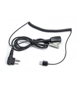 CABLE CAZA SPORTTAC TAMT06/M-HRT MICROFONO CON PTT MOTOROLA